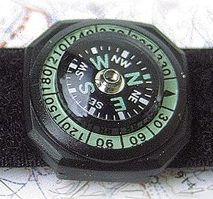 STR WATCH COMPASS DELUXE ročni kompas