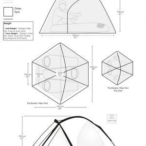 SNUGPAK BUNKER šotor