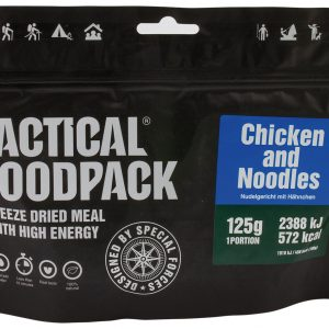 TACTICAL FOODPACK – PASTA DISH WITH CHICKEN MRE hrana