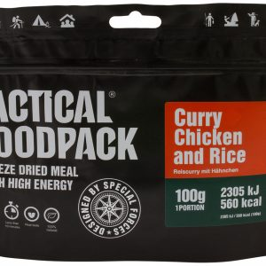 TACTICAL FOODPACK – RICE CURRY WITH CHICKEN MRE hrana
