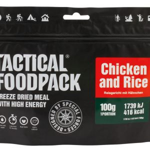 TACTICAL FOODPACK – RICE DISH WITH CHICKEN MRE hrana