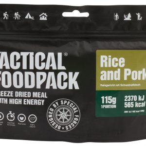 TACTICAL FOODPACK – RICE DISH WITH PORK MRE hrana