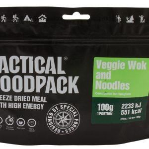 TACTICAL FOODPACK – VEGETABLE WOK WITH SPAGHETTI MRE hrana