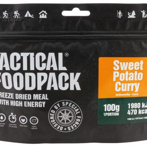 TACTICAL FOODPACK – SWEET POTATO CURRY MRE hrana