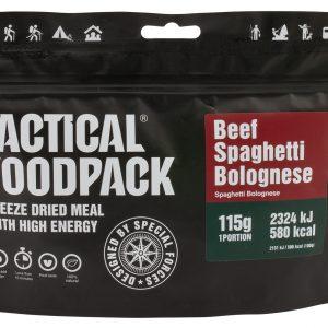 TACTICAL FOODPACK – SPAGHETTI BOLOGNESE MRE hrana